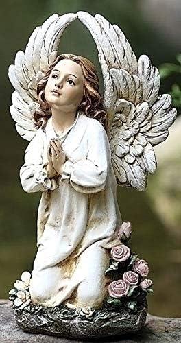 Joseph's Studio 16″ Kneeling Angel Garden Statue