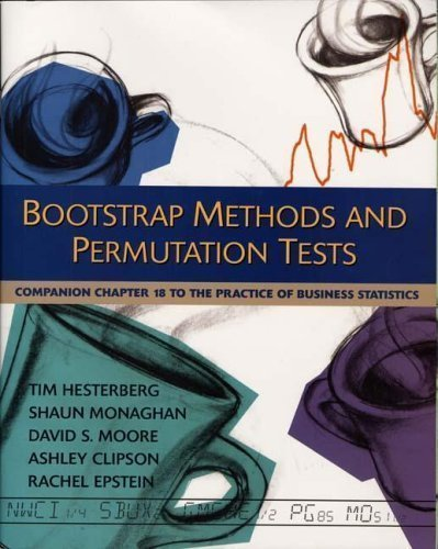 The Practice of Business Statistics Companion Chapter 18: Bootstrap Methods and Permutation Tests