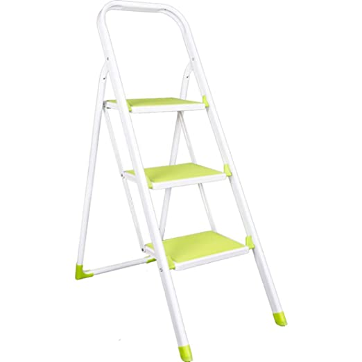 JLDN Escalerilla, 3 Peldaños Escalera Plegable Escalera Plegable ...