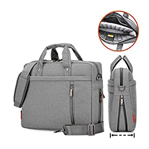 Laptop Case,SNOW WI- 12-13.3 Inch Fashion Durable Multi-functional waterproof Laptop Shoulder Bag Briefcase Case for MacBook Air ,MacBook Pro,Acer,Asus,Dell,Lenovo,HP,Samsung,Sony,Toshiba(Gray)