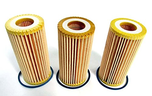 Golf Gti Iii (2015-2016 VW Volkswagen Golf GTI Set Of 3 Oil Filter Replacements GENUINE OEM BRAND NEW)