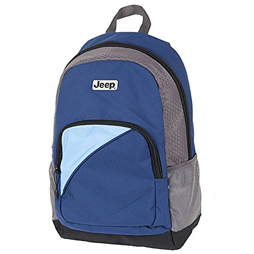 Jeep Sky Blue Standard Canvas Global Backpack SPSrfq
