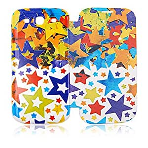Five-Pointed Star Leather Case for Samsung Galaxy S3 I9300