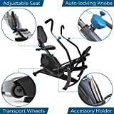 Teeter FreeStep Recumbent Cross Trainer and