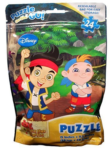 Disneys Jake and the Neverland Pirates Puzzle On the Go - 24 piece ()