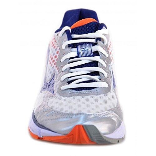 Mizuno - Mizuno Wave Connect Scarpe Running Bianco Blu Argento 144816 - Bianco, 45