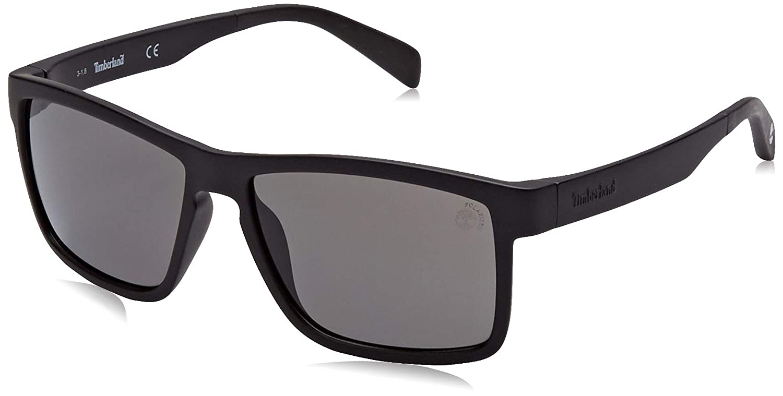 Timberland TB9081 Gafas de Sol, Negro (Matte Black/Smoke ...