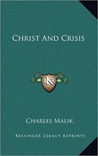 Book Christ and Crisis