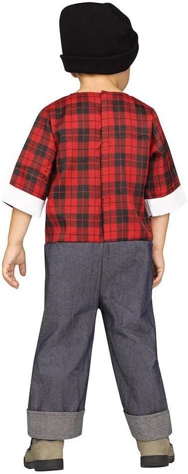 Horror-Shop Hipster Lumberjack Toddler Costume L: Amazon.es ...