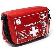 Selldorado® 32-teiliges Erste-Hilfe-Set Traveller – Notfallkoffer ideal für Outdoor, Fahrrad Camping, Reisen, Sport…