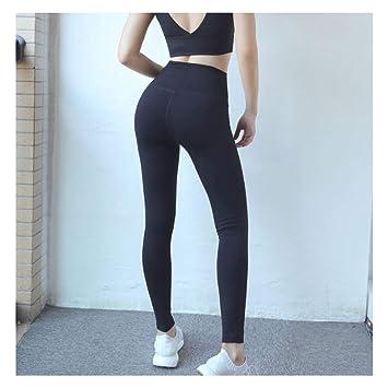 ZMJY Pantalones de Yoga para Mujeres, pies elásticos ...