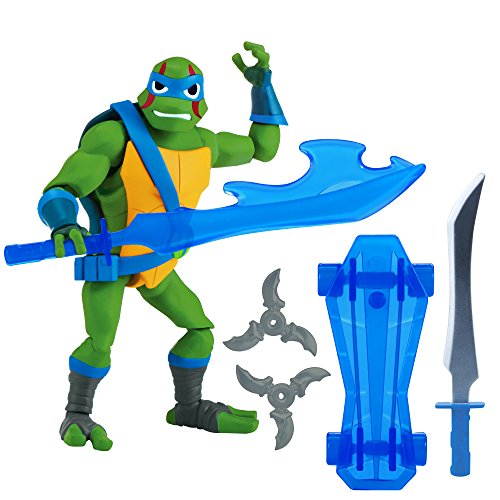 Rise of the Teenage Mutant Ninja Turtles Leonardo Action Figure]()