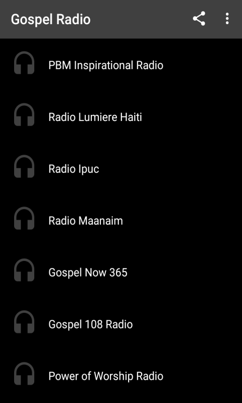 Amazon com: Gospel Music - Radio Stations: Appstore for Android