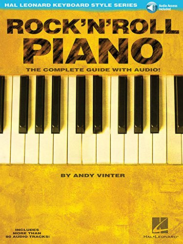 Rock'N'Roll Piano - The Complete Guide with Audio!: Hal Leonard Keyboard Style Series [Online download] Paperback – February 1, 2003