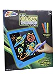 Led Glow Writing Board Glow In The Dark Drawing Board With Pens Led Scribble Board BLUE
