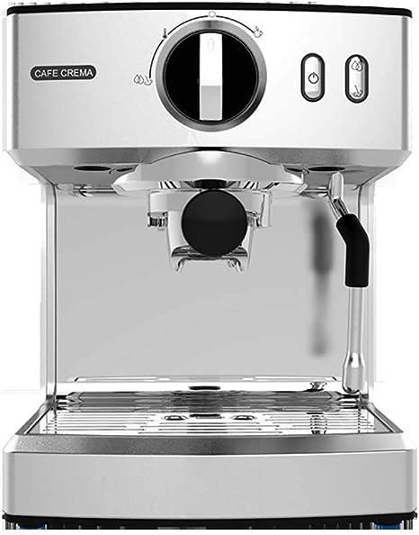 ZHJIUXING KF Fácil de Usar Cafetera Espresso, 20 Bares, Depósito ...