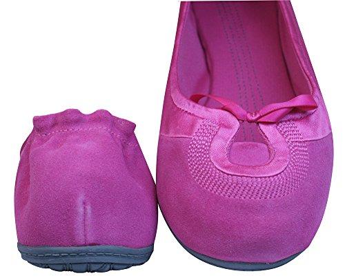 Puma Travel Ballerina Suede Womens - Shoes Fuchsia dIAAY2iWG