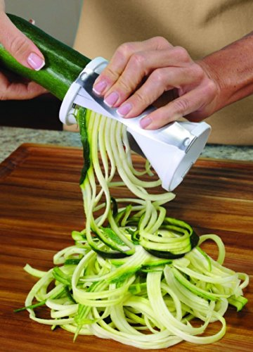 Ontel Veggetti Spiral Vegetable Slicer, Makes Veggie Pasta