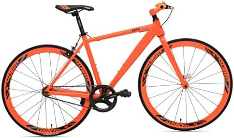 RapidCycle Evolve Fixed Gear Bike - Aluminum Flat bar (700CC)