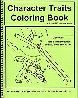 Character Traits Coloring Book and Songs: Amazon.com: Books