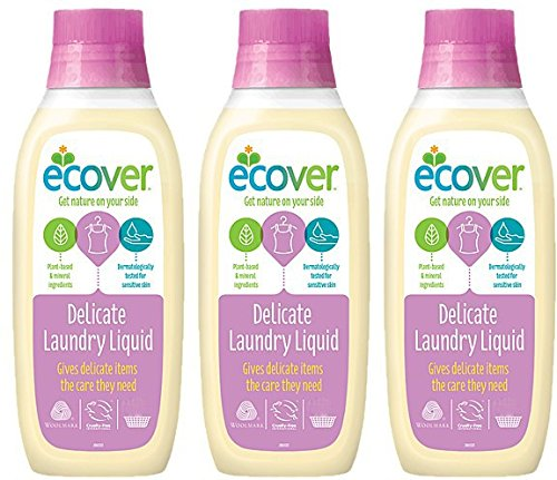 (3 PACK) - Ecover - Delicate 750ml | 750ml | 3 PACK BUNDLE ECOVER (UK)