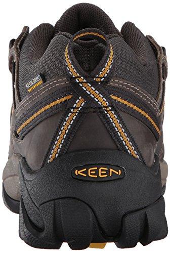 Keen - Scarpe da camminata, uomo, colore: Marrone Raven/Tawny Olive