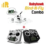 FrSky Taranis Q X7 with EMAX Micro Brushless Quadcopter Babyhawk Bind-N-Fly