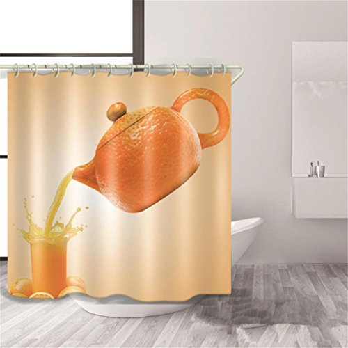 CCYYJJ The Curtains Of Shower Made Of Polyester Fabric Printing Inaccessible Individual 3Of Air Curtain Decoration Curtain Bath Space Bains Exposed Cutting, 1, 150180 8610 Air