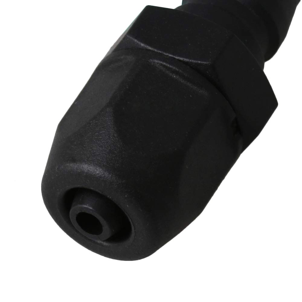 Mxfans 10 x Plastic Tubing Pneumatic Quick Connector for OD 8mm ID 5mm Hose