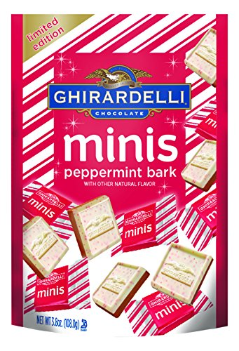 Ghirardelli Minis Pouch Peppermint Ounce