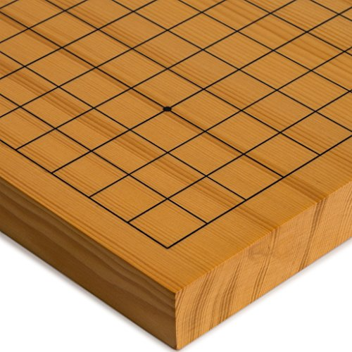 Reversible Shin Kaya Go Table Board (Goban), 1.2 Inch Thick