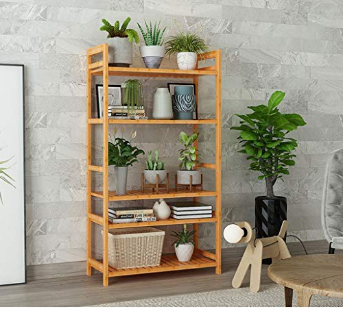 Solid Wood Floor Flower Stand two Styles Multi-layer Choice Living Room Balcony Multi-function Placement Environmental Clean and Stylish Generous