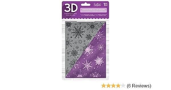 Diesire 3D Embossing Folder Clear