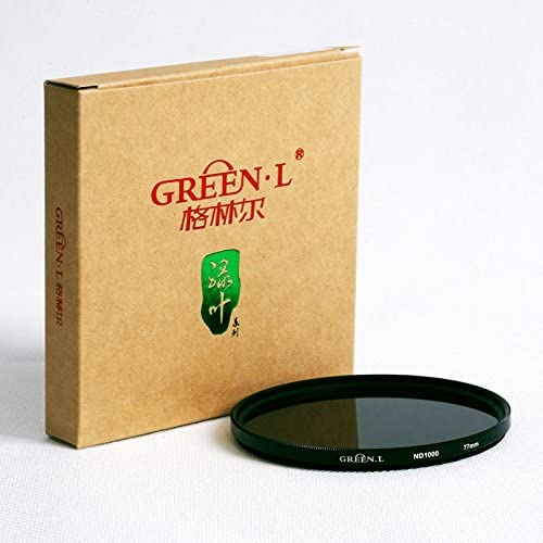 GREENL 77mm ND1000 Filter Neutral Density 10 Stop Optical Glass