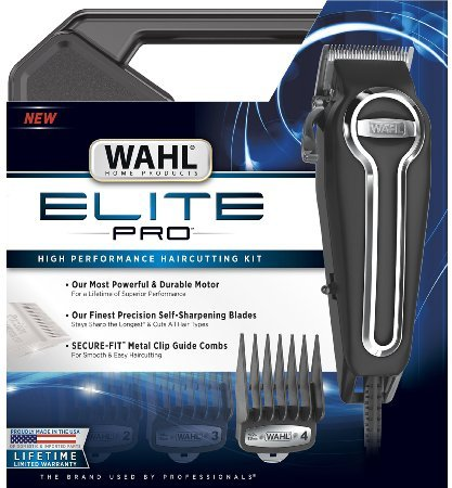 shaver wahl elite pro high performance haircut kit 79602