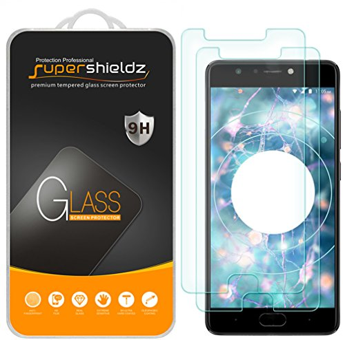 [2-Pack] Supershieldz for BLU Life One X3 Tempered Glass Screen Protector, Anti-Scratch, Bubble Free, Lifetime Replacement Warranty