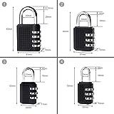 4-Pack-Combination-Padlocks-by-DigHealth-Weatherproof-Keyless-and-Multiple-Size-3-or-4-Digit-Code-Locks-Resettable-Number-Password-Locks-for-Gym-School-Lockers-Luggage-Suitcases-black