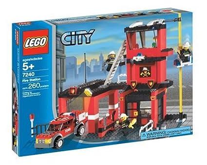 Amazoncom Lego City Fire Station Toys Games