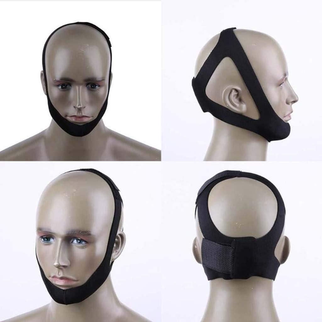 Gzeagfl Máscara para Dormir triángulo Anti-ronquidos Cabeza parar roncar ronquidos mentón mentón roncar Resistencia, Herramientas para Dormir Evitar Que los Dispositivos Que roncan: Amazon.es: Hogar