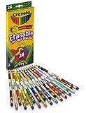 Crayola 24 Ct Erasable Colored Pencils