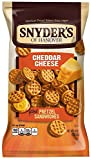 snyders cheese pretzels - Snyder's of Hanover Cheddar Cheese Pretzel Sandwiches, 8-Ounce Packages (Pack of 12)