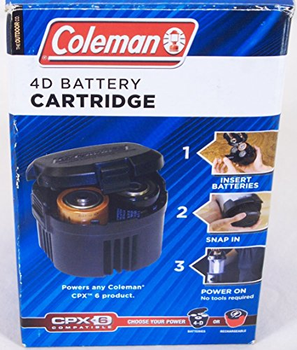 Price comparison product image Coleman 4D Battery Cartridge- CPX6 Compatible