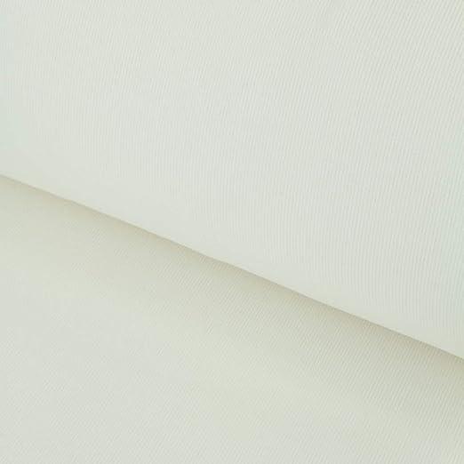Nadeltraum Tela de algodón para puños RIPP en Color Blanco Crudo ...