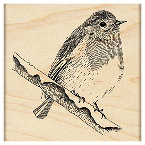 (Penny Black Winter Perch Wood-Mounted Stamps)