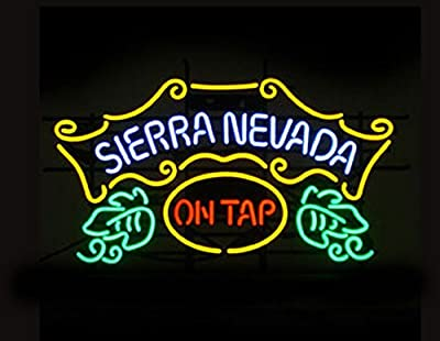 "Urby™ 24""x20"" S ierra N evada On Tap Custom Neon Light Sign Beer Bar Sign 3-Year Warranty-Excellent Handicraft! SP21"