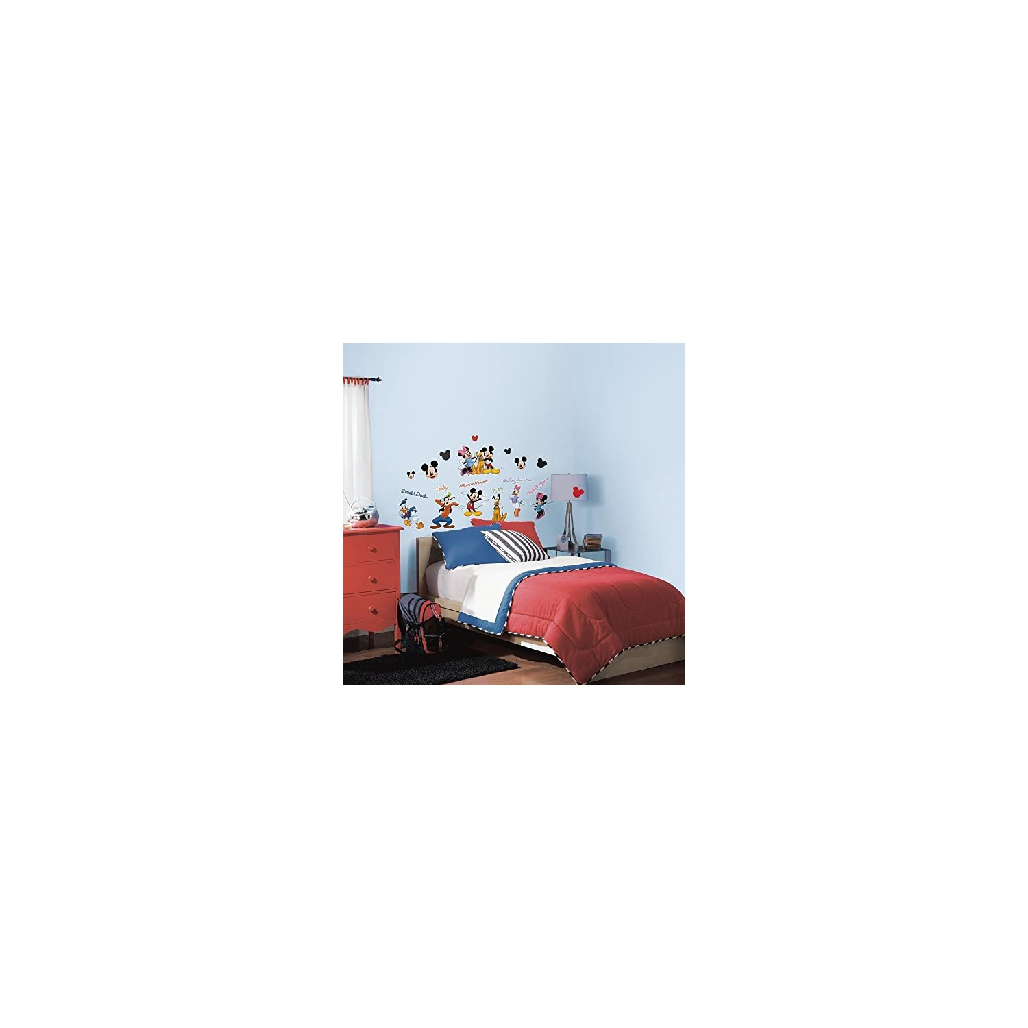 RoomMates Mickey & Friends Peel and Stick Wall Decal – RMK1507SCS