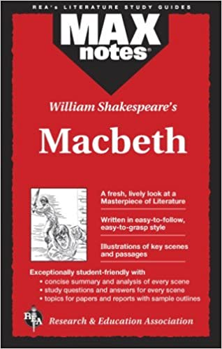William Shakespeare's Macbeth (MaxNotes) by Rebecca McKinlay Sheinberg (1995-06-01)