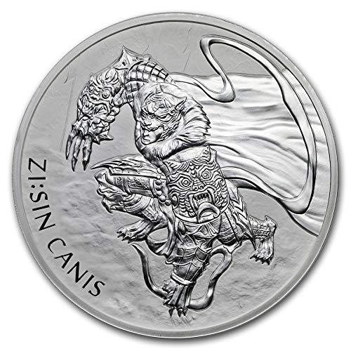 2018 KR South Korea 10 oz Silver ZI:SIN Canis BU 10 OZ Uncirculated