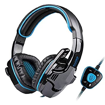 HHLUW Auriculares Inalámbricos Bluetooth Sonido Virtual Surround Gaming Auricular Estéreo USB Pc Juego De Auriculares con