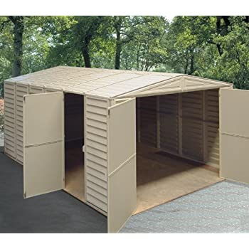 Amazon Com Duramax 10x15 5 Vinyl Storage Shed With